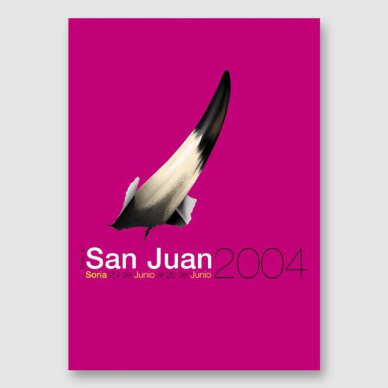 Diseño cartel Fiestas San Juan
