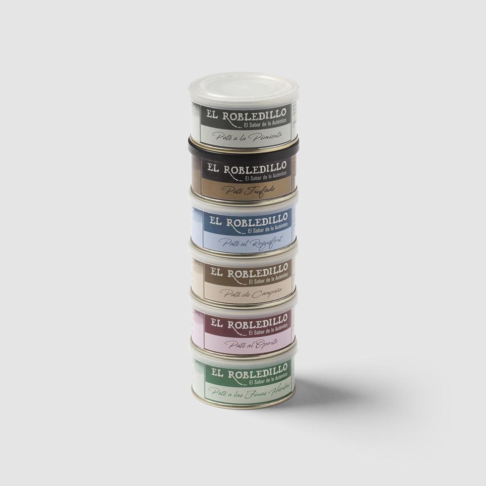 diseño packaging pate artesano el robledillo