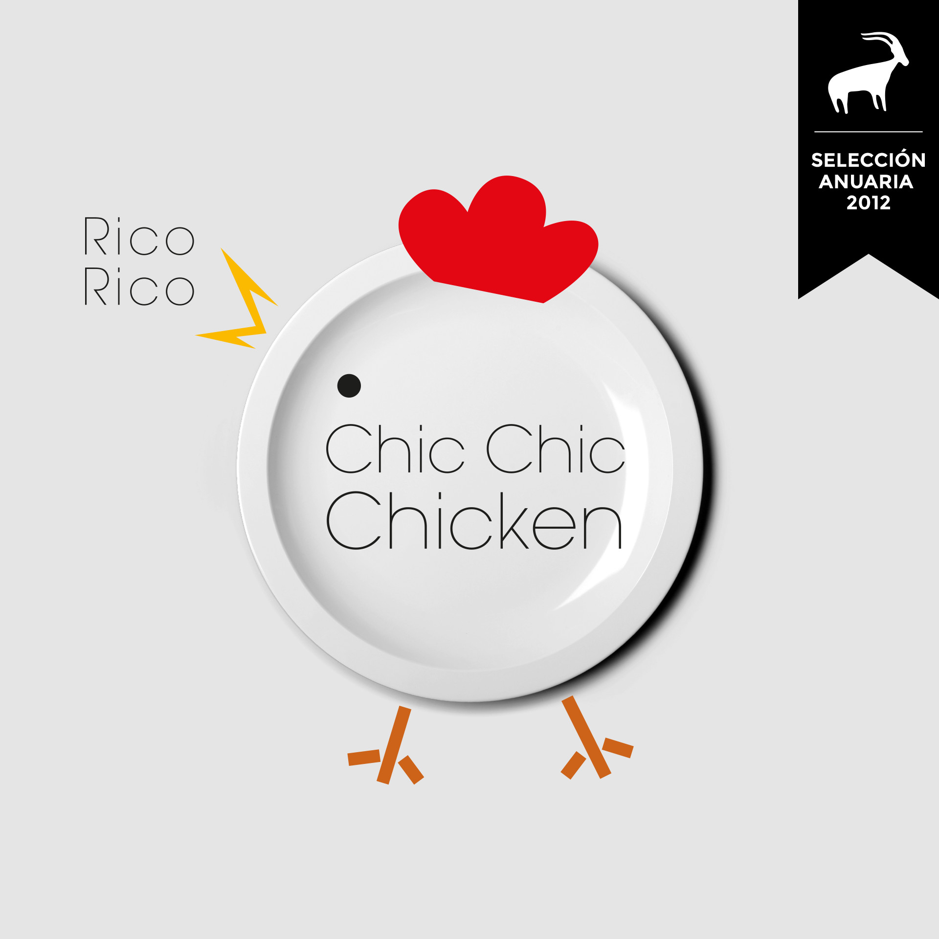Diseño logotipo Restaurante Chic Chic Chicken