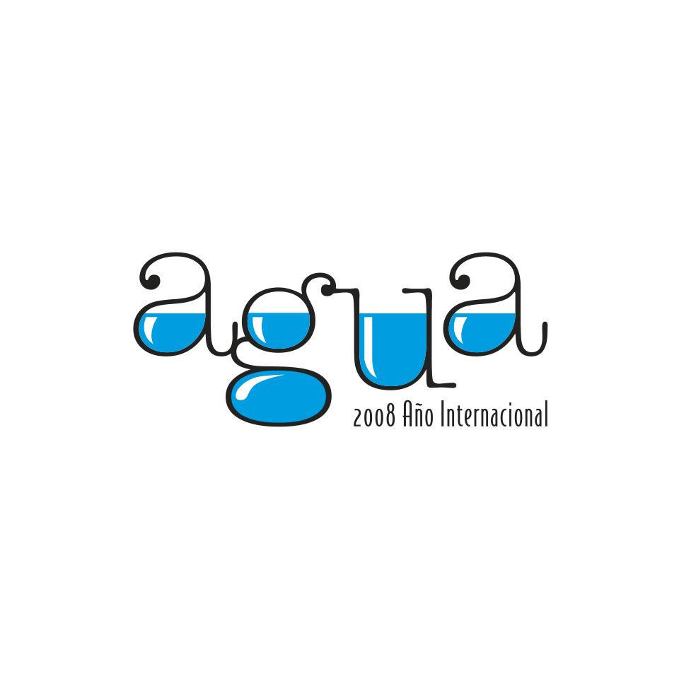 Diseño logotipo corporativo agua