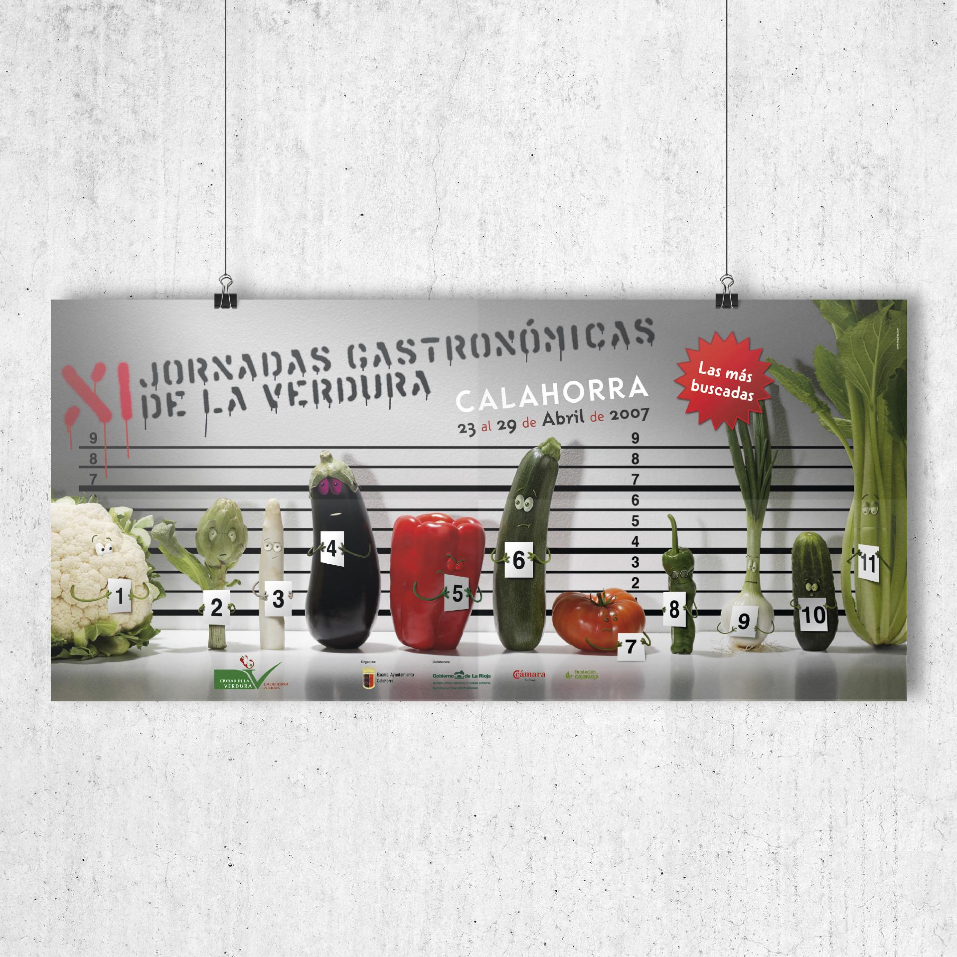 diseño cartel XI Jornadas verdura calahorra