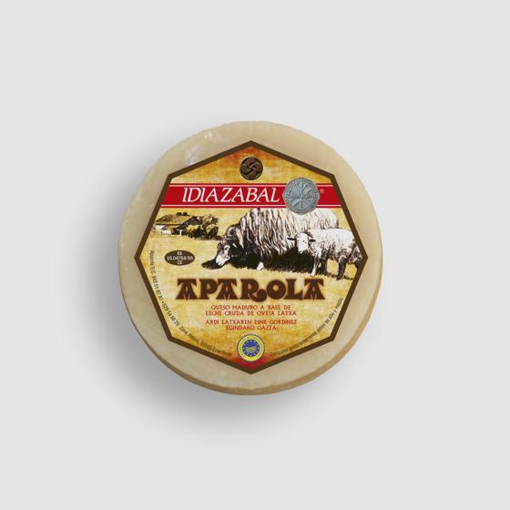Diseño etiquetas queso Aparola e Imares