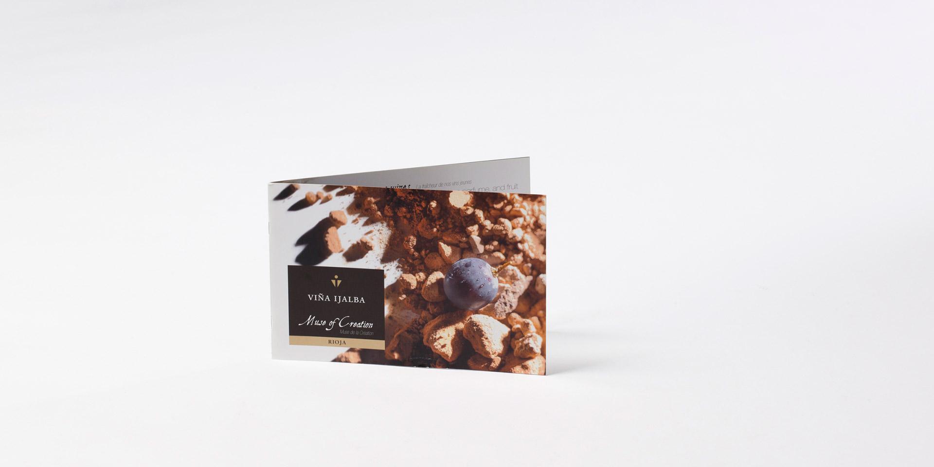 Diseño catálogo Bodega Ijalba
