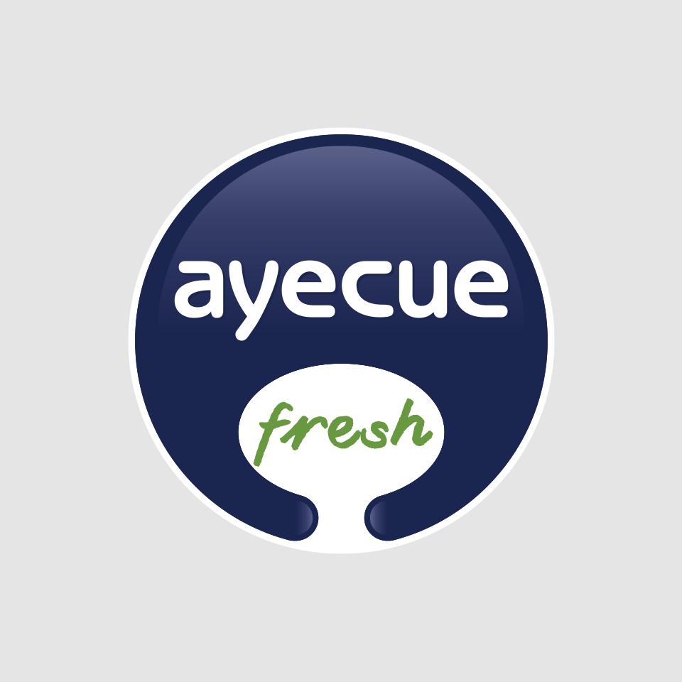 diseño logotipo ayecue fresh riberebro