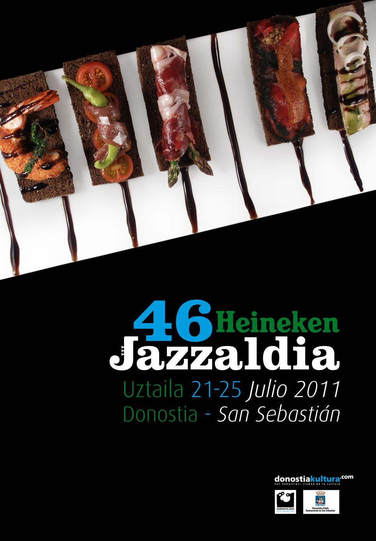Diseño de cartel para la 46 Edición de Heineken Jazzaldia
