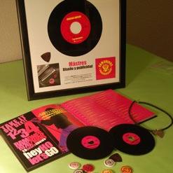 «Música para tus ojos», el diseño discográfico desde la óptica de Enrique Cabezón, Óscar Ortega y Víctor Zapata