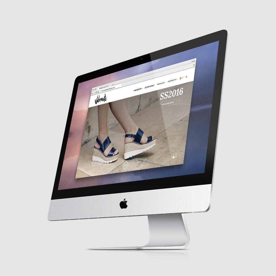 diseño web responsive wordpress alpargatas vidorreta