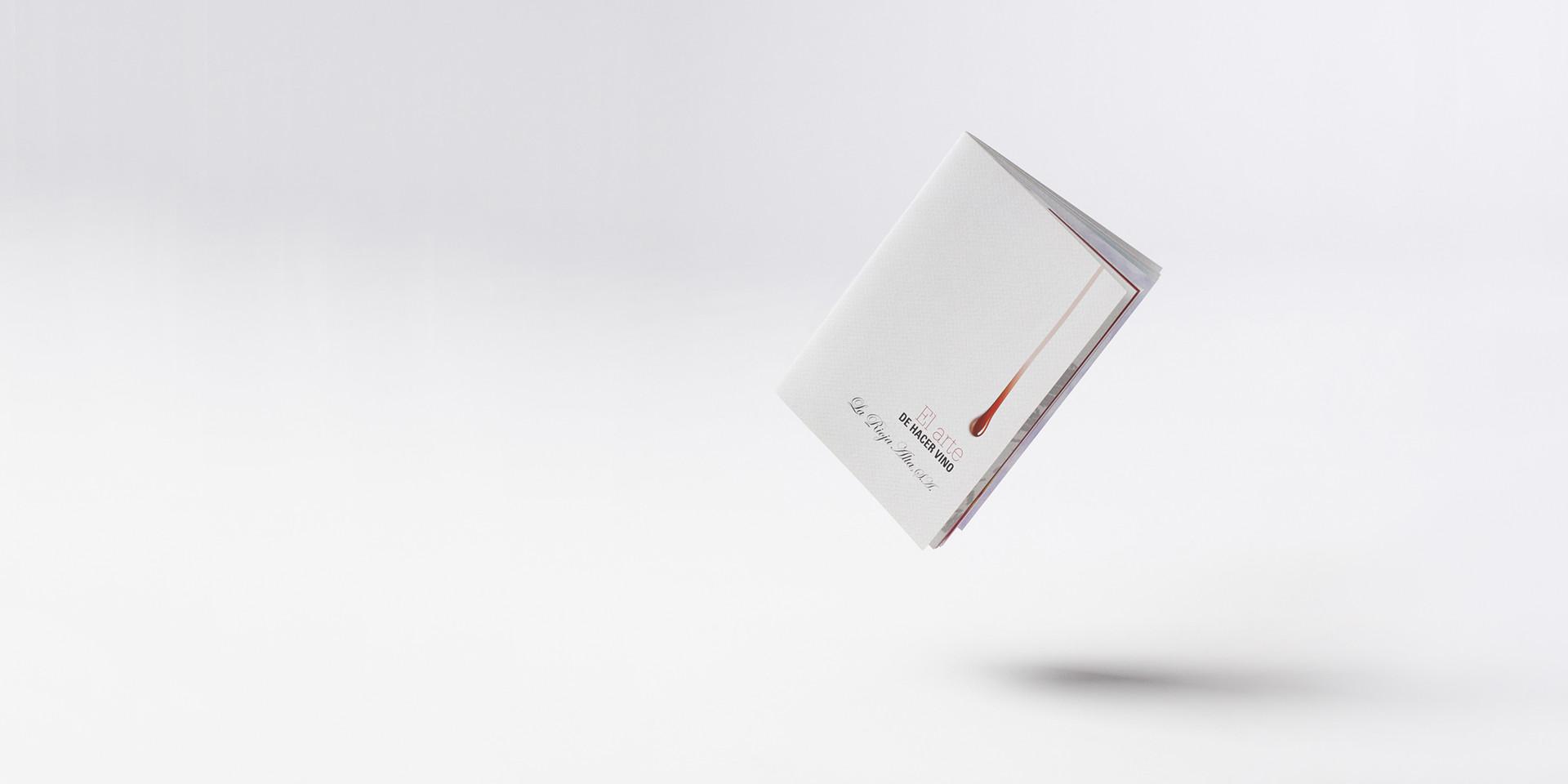 Diseño catalogo vino rioja alta