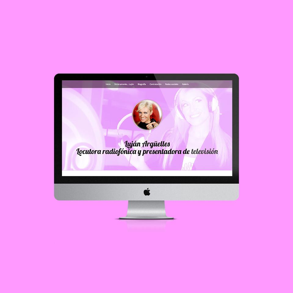 diseño responsive wordpress lujan argüelles