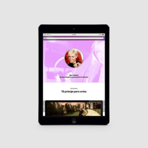Diseño blog y web Lujan Argüelles
