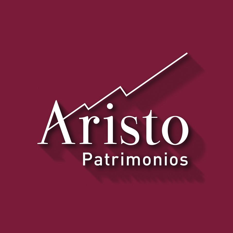 Diseño logotipo asesoría gestión patrimonios Aristo