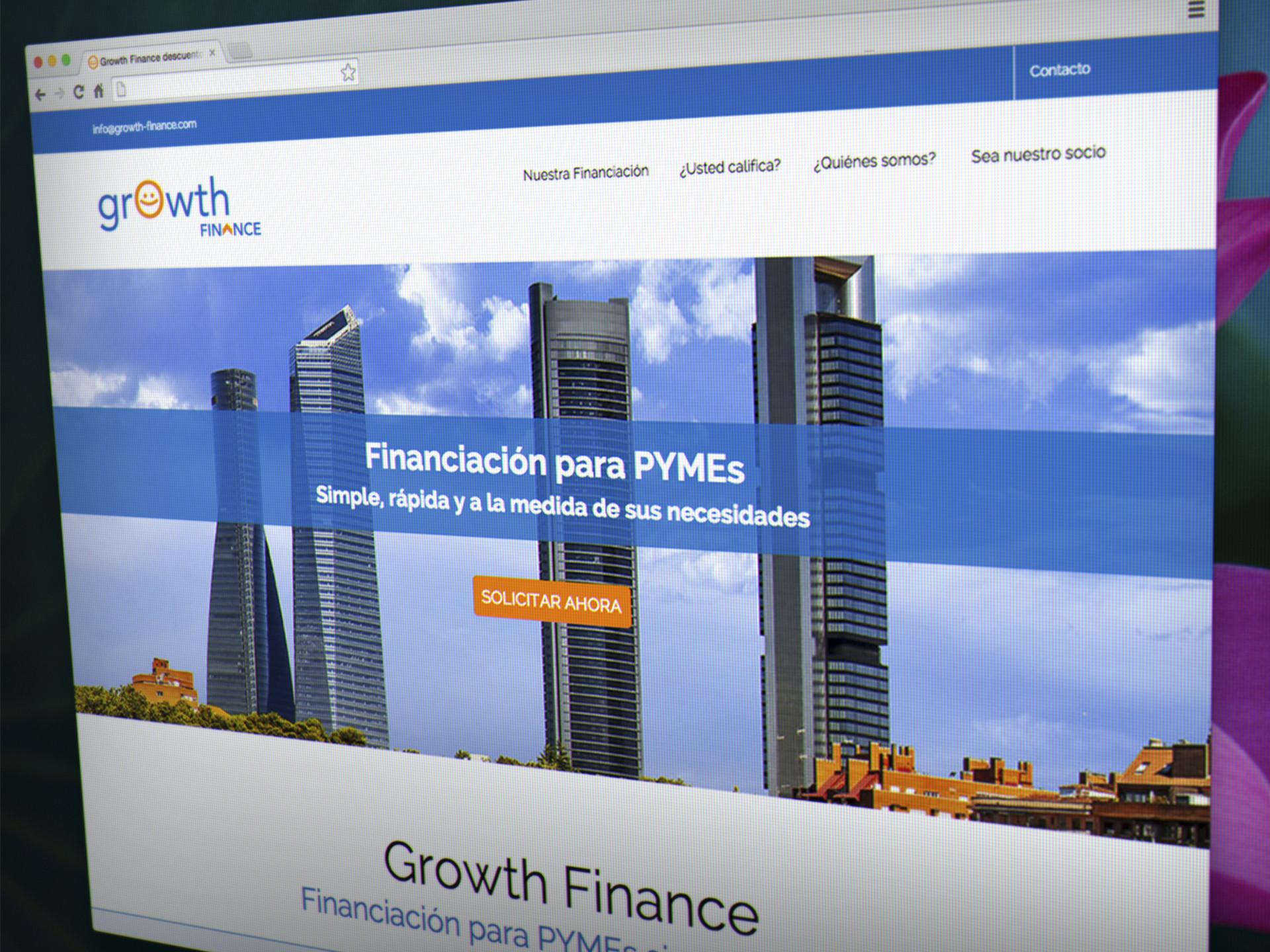 diseño web responsive finanzas bancos