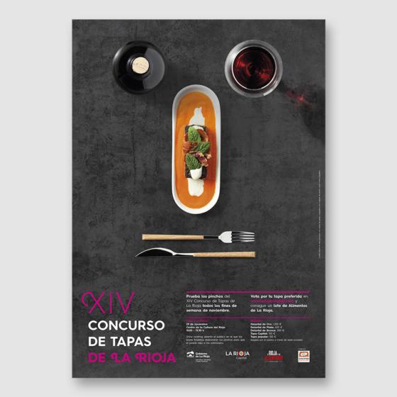 Diseño imagen XIV Concurso de Tapas de La Rioja