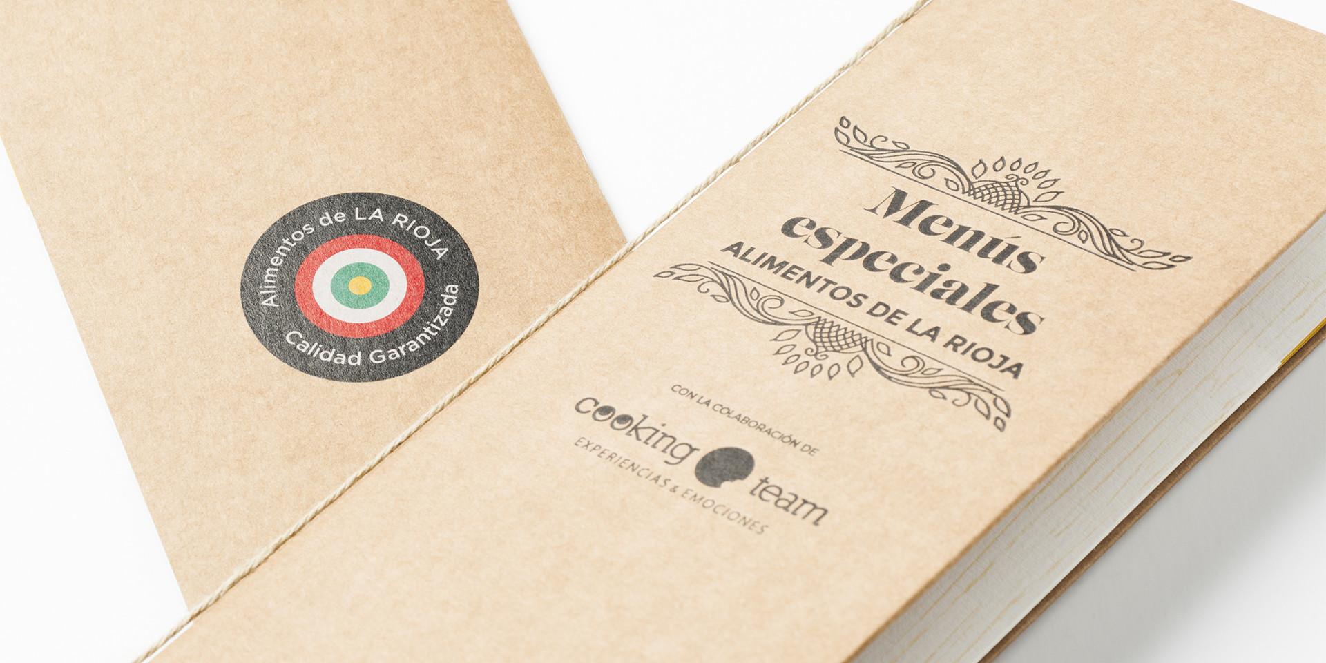 Diseño menus especiales alimentos La Rioja