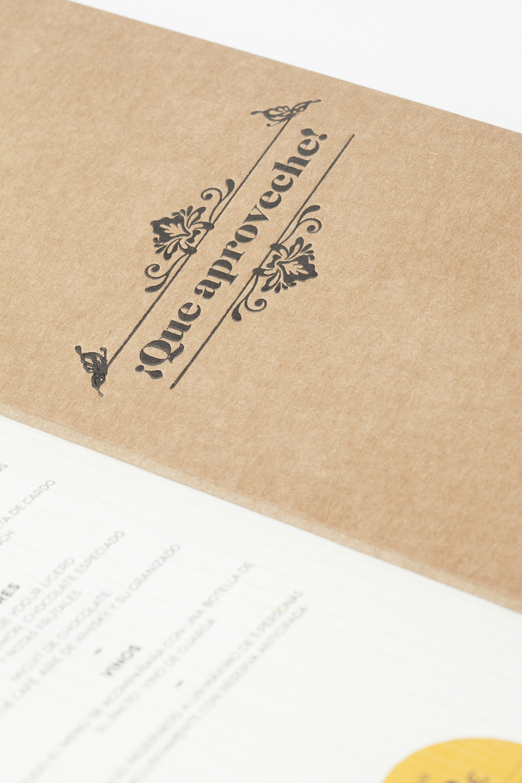 Diseño menús restaurantes Logroño