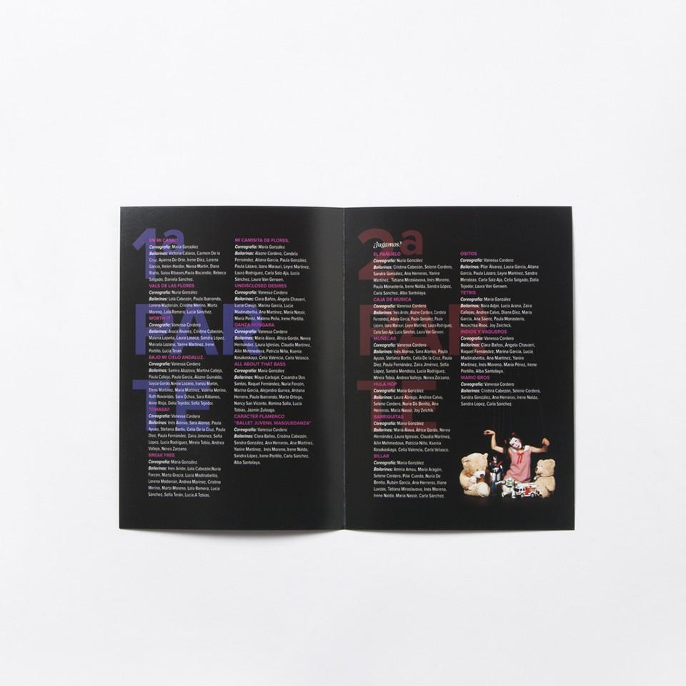 Diseño programa academia baile La Rioja