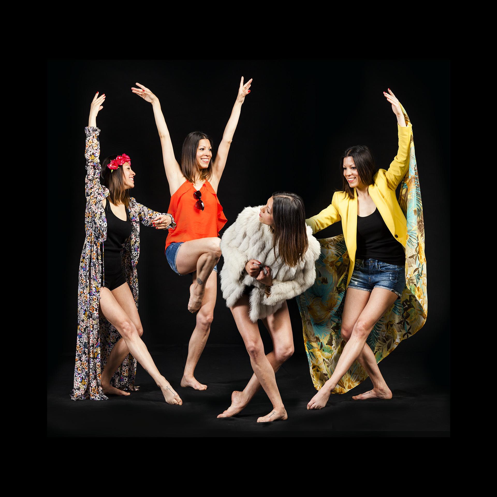 Montaje fotografico festival mas que danza
