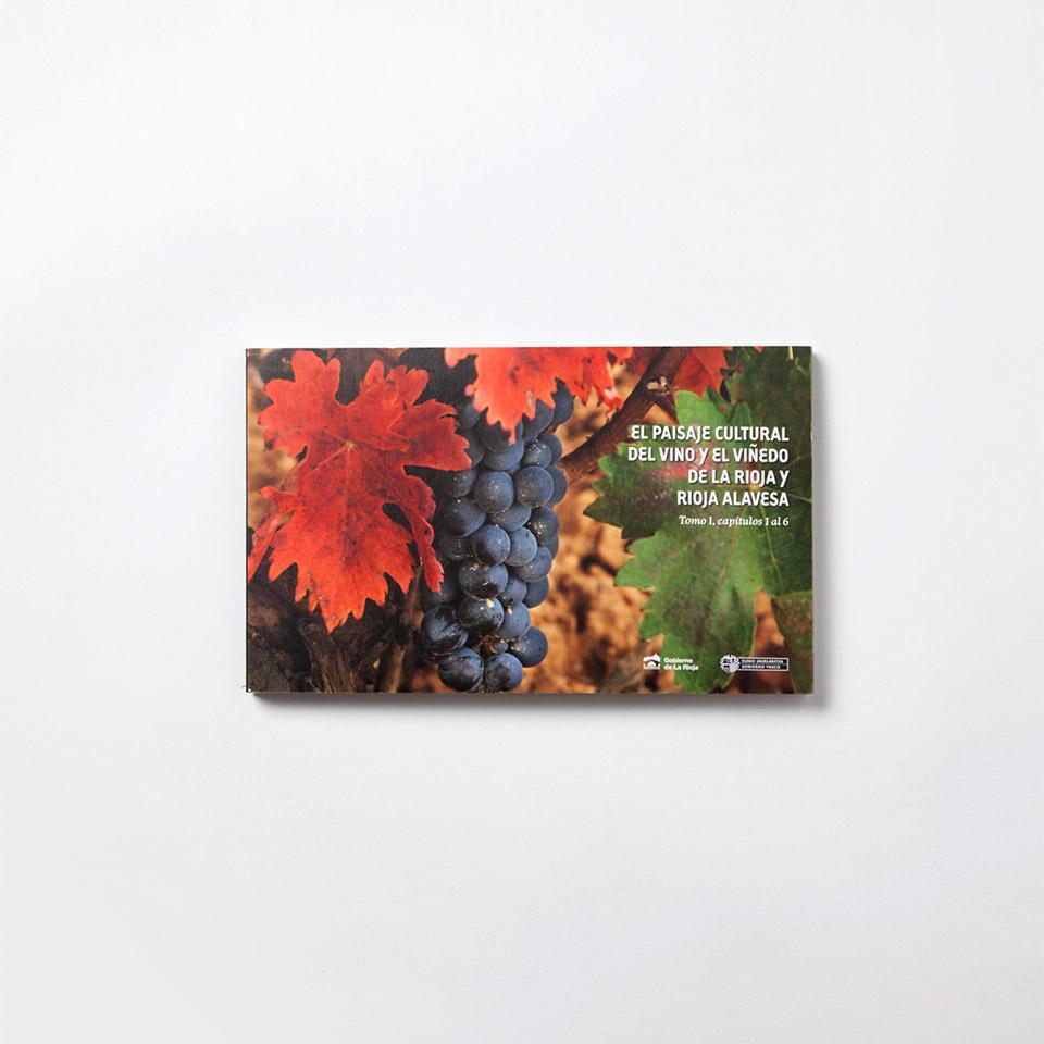 Diseño catalogo presentacion paisajes del vino Unesco