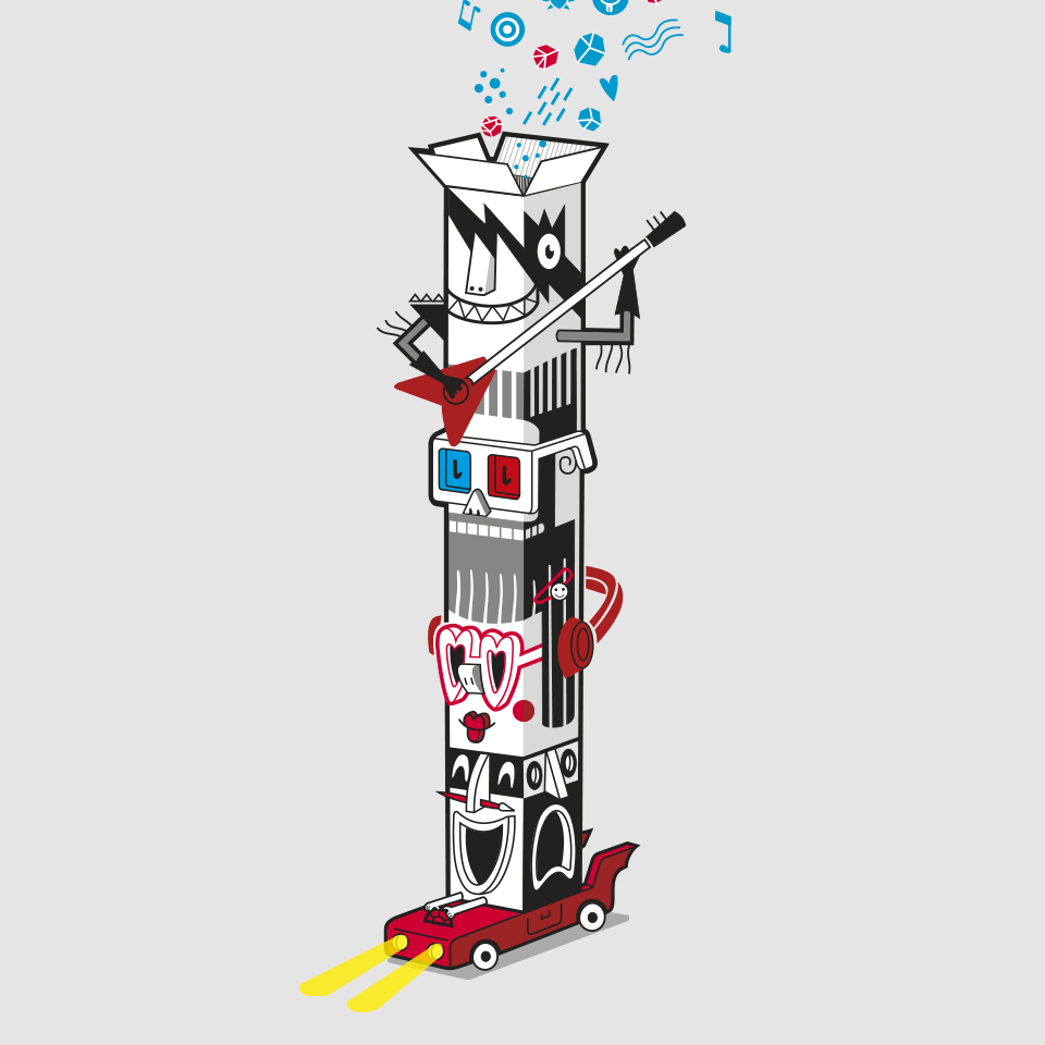 Diseño cartel Festival Actual 2016