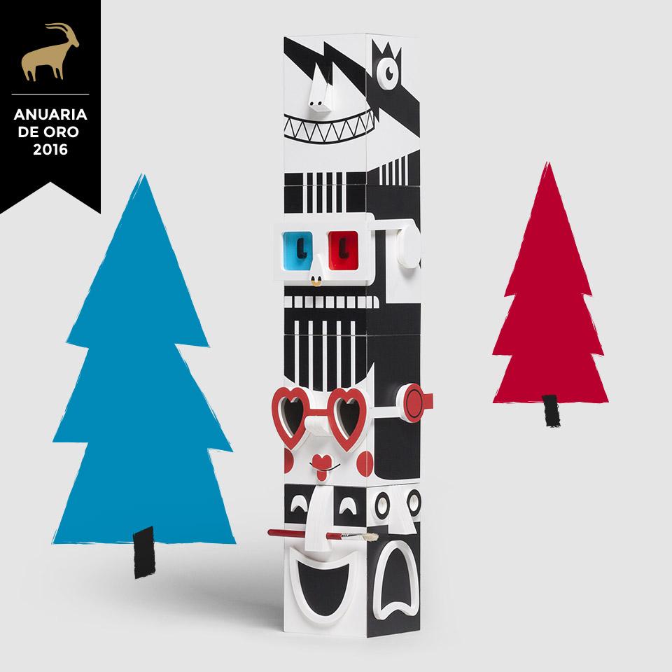 Diseño campaña Festival Actual 2016 Anuaria oro 2016