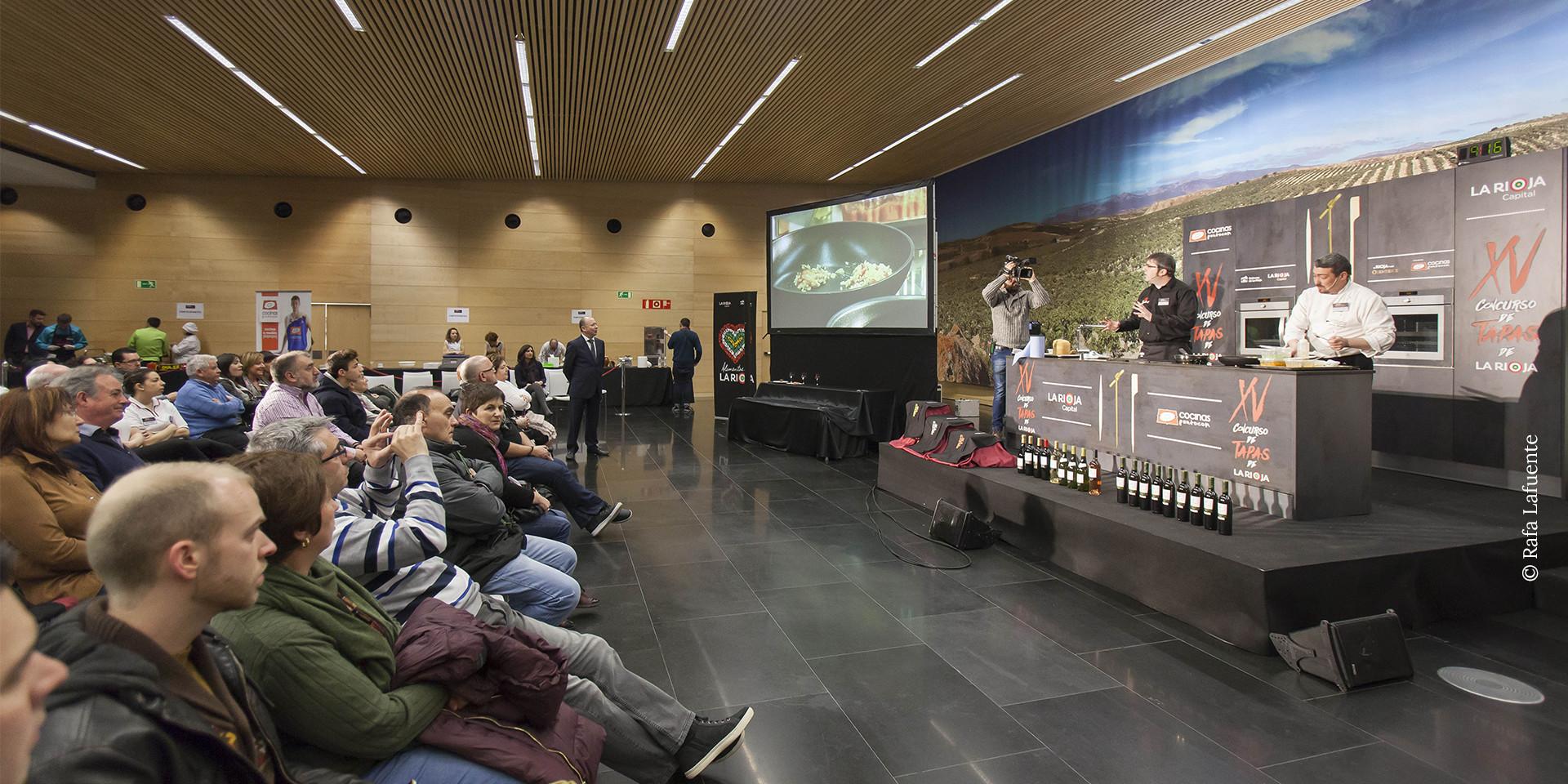 Evento XV concurso tapas La Rioja