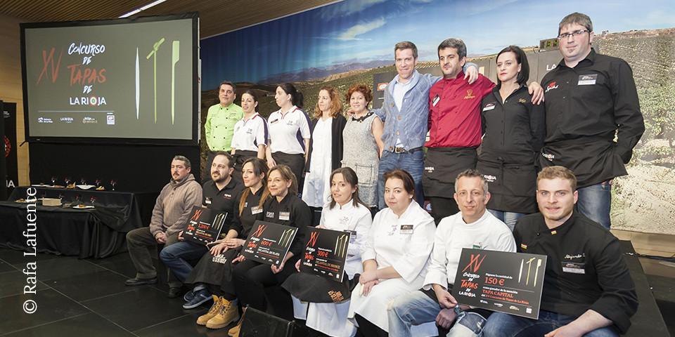 Premiados XV concurso tapas La Rioja