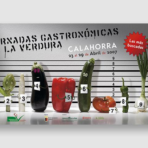 Diseño imagen Jornadas Gastronómicas de la Verdura
