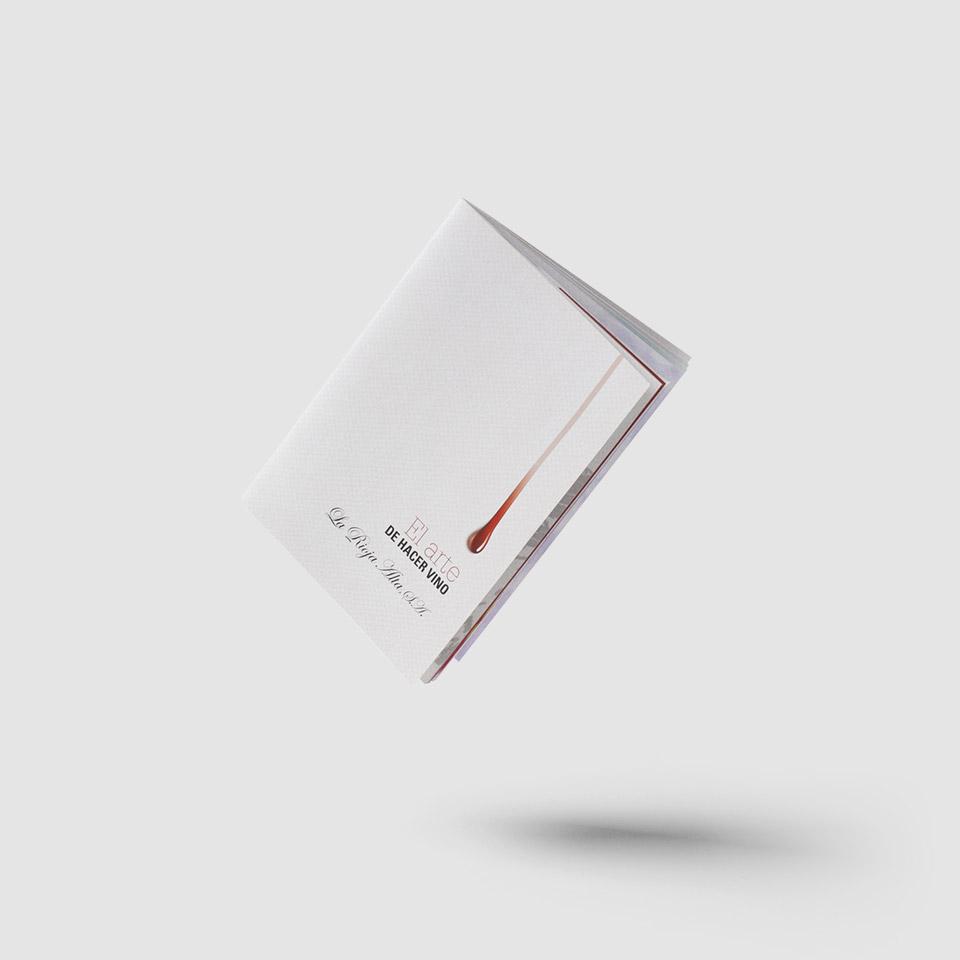 Diseño de catálogo para Rioja Alta S.A.