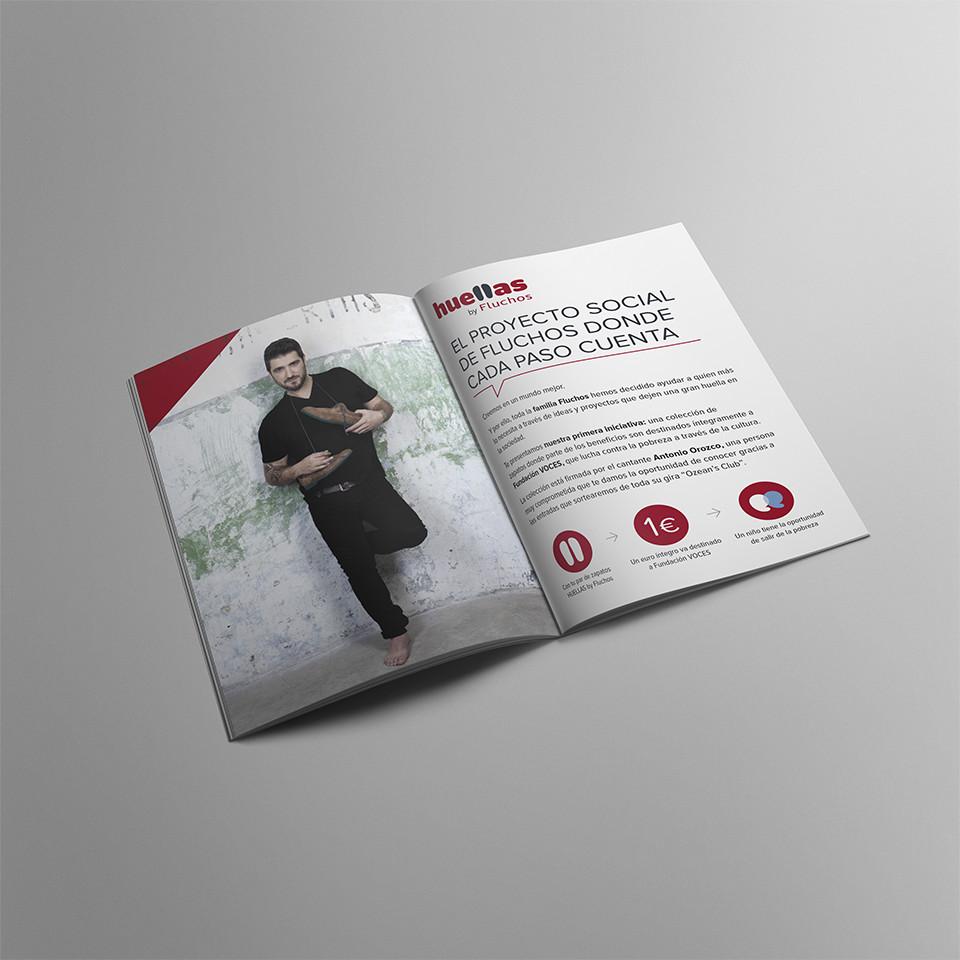 Diseño folleto calzado La Rioja