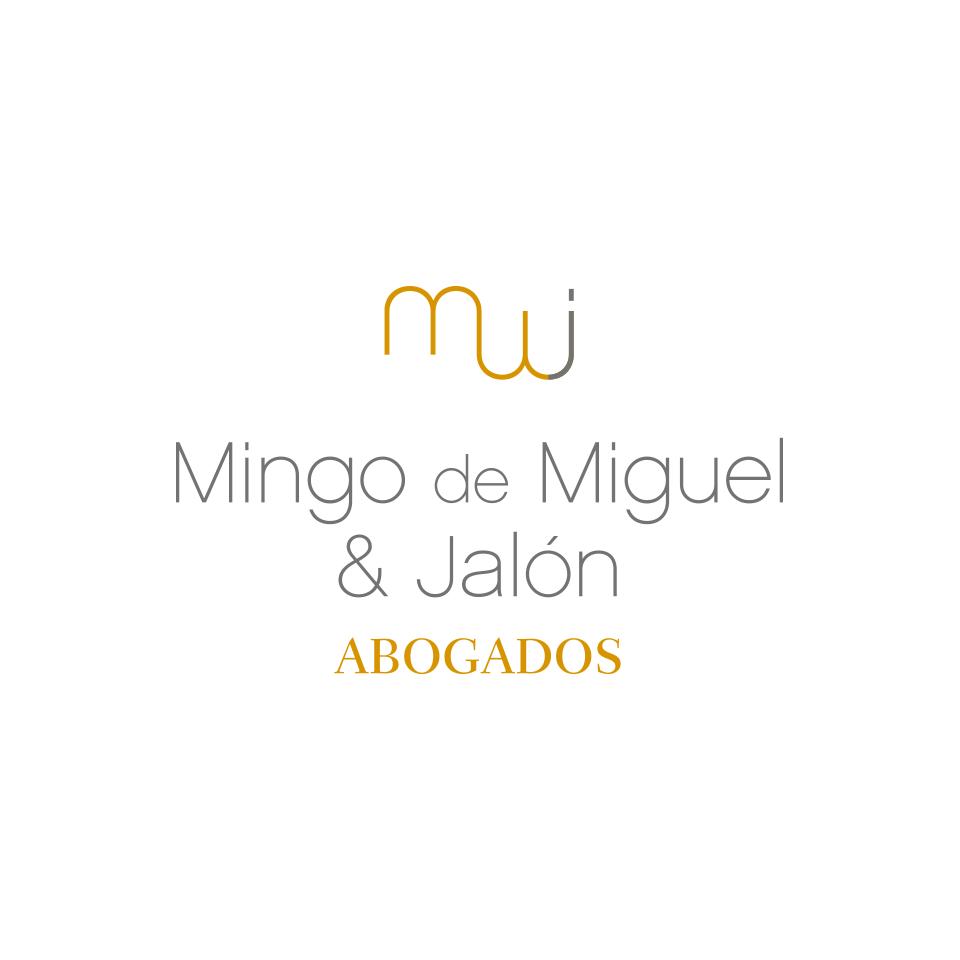 diseño logotipo abogados mingo de miguel & jalón