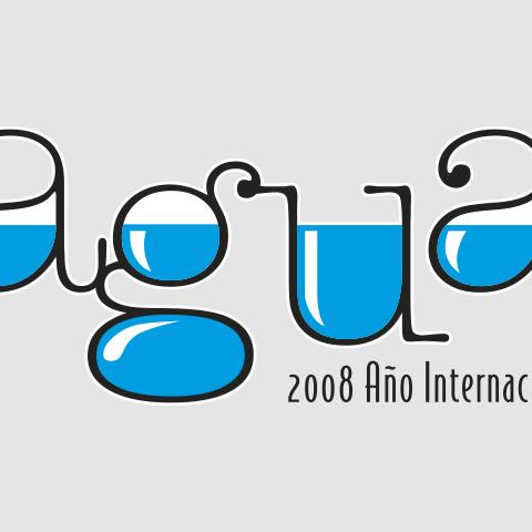 Diseño logotipo Año Internacional del Agua