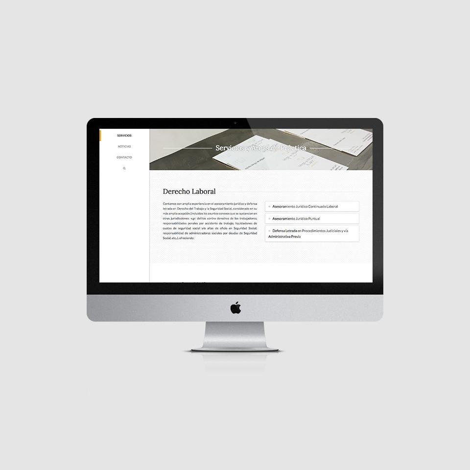diseño web abogados mingo de miguel jalón