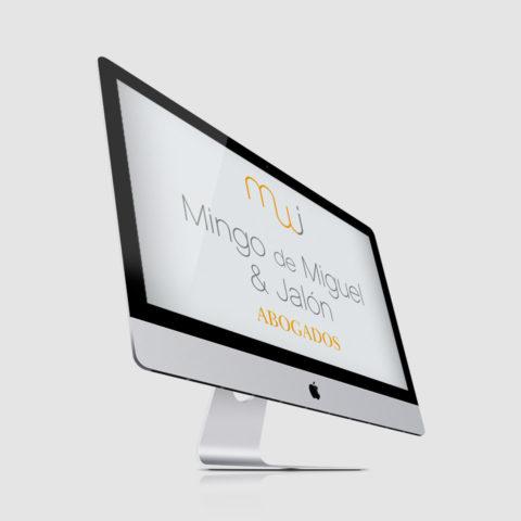 Diseño web abogados Mingo de Miguel & Jalón