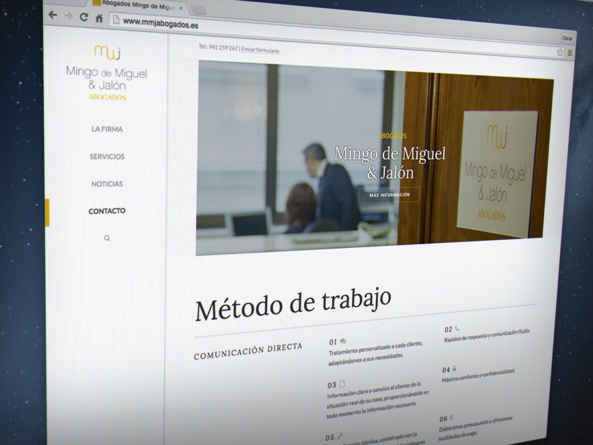 diseño web wordpress abogado la rioja