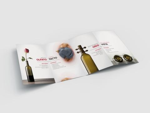 folleto el rioja y los 5 sentidos interior