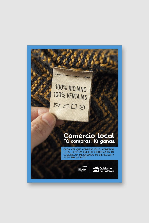 Creatividad campaña Comercio La Rioja