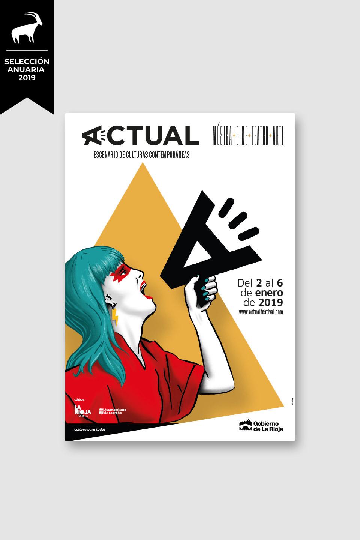 diseno-creatividad-campana-festival-actual-2019-premio-anuaria