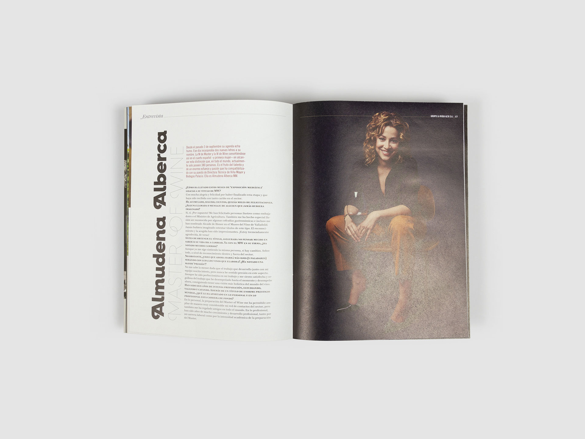 diseño revista grupo la rioja alta