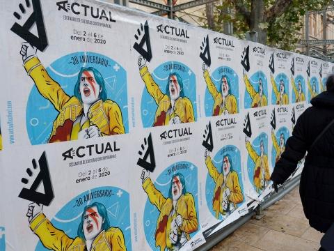 diseno carteles festival actual 2020