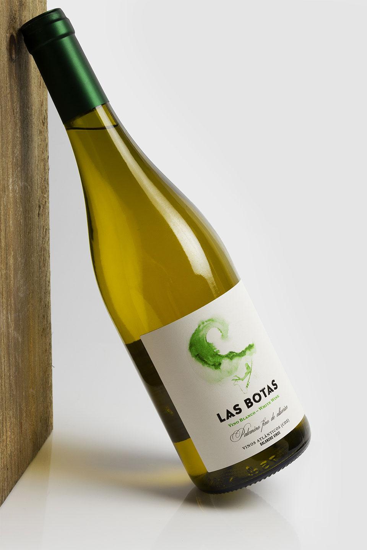 diseño etiqueta vino blanco Cádiz las botas