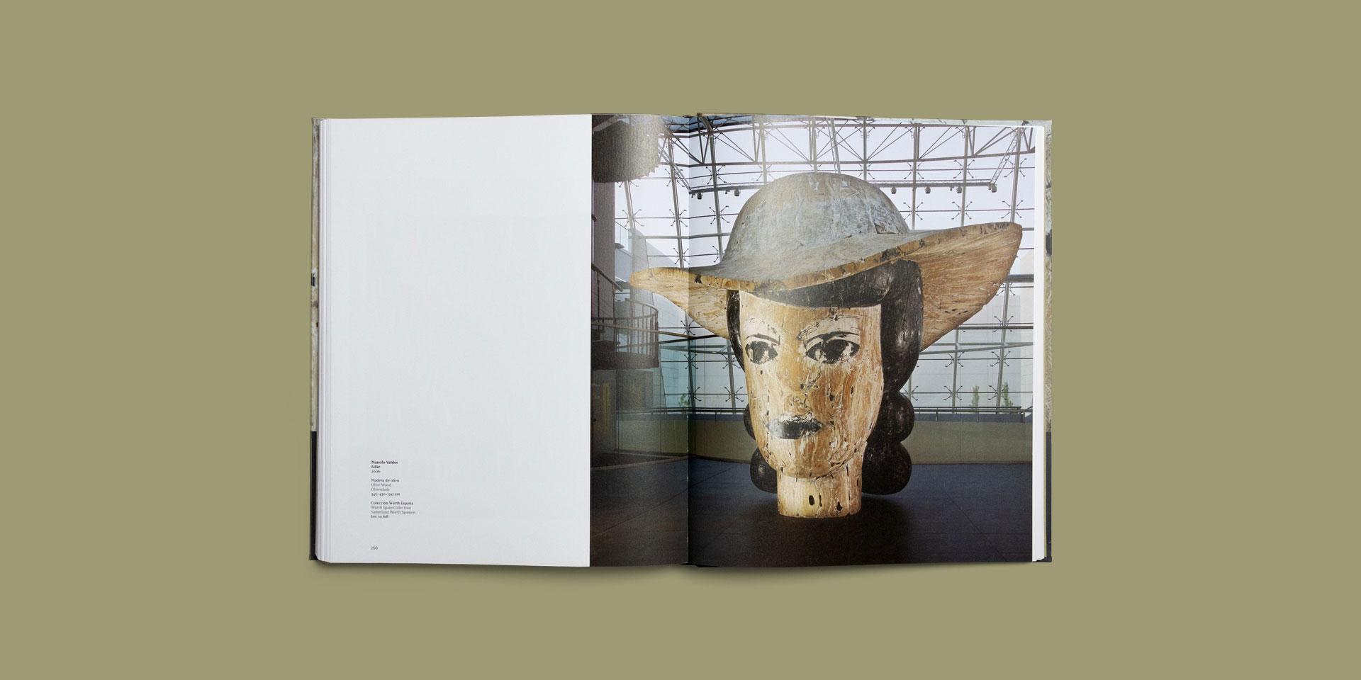 diseño catalogo arte español manolo valdes