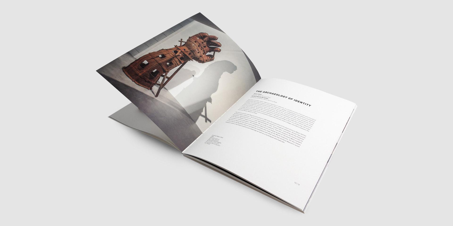 diseño catalogo exposición museo würth la rioja