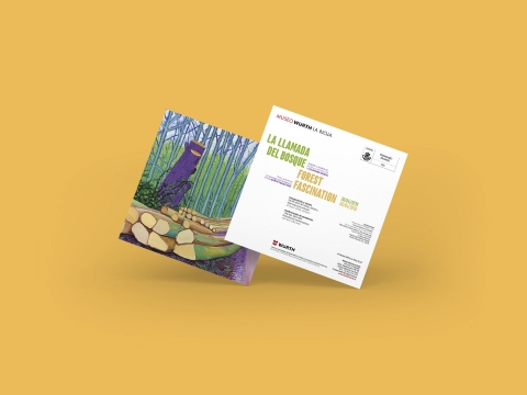 invitacion la llamada del bosque museo wurth la rioja