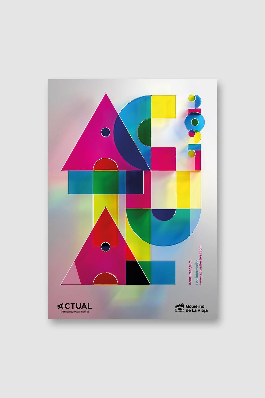 Diseño campaña Festival Actual 2021
