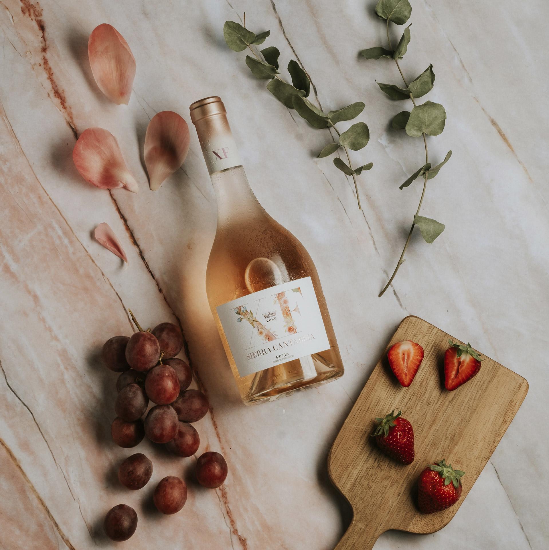 Wine design diseño etiqueta XF Sierra Cantabria